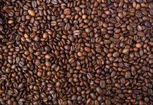 Ristaðar heilar kaffibaunir
