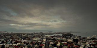 Horft yfir Reykjavík