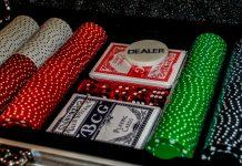 Pókersett og spil